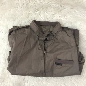 Vintage members only brown jacket size L